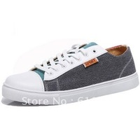 2012 new men's Korean men's canvas shoes men shoes breathable shoes, single shoes, summer