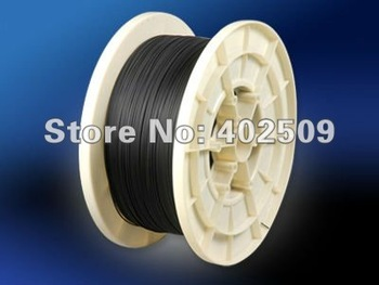 CSC-LC750;Coated with black PVC optical fiber inner dia0.75mm,outer dia 2.2mm,packing 450m/roll