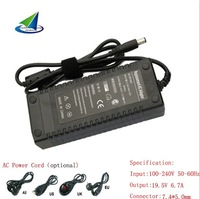for DELL PA-13 laptop charger 19.5V 6.7A tip size 7.4*5.0mm,fast shipping,100% brand new,free power cord