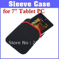 """Free Shipping 5pcs/lot Fashion Tablet Soft Sleeve Case Cover Bag Pouch for 7"""" Tablet PC MID Epad Apad Ebook"""