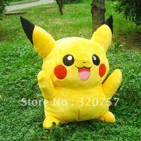 "Wholesale - Large 31"" 80cm! Halloween Toys LARGE FAT Pikachu PLUSH STUFFED TOY GIANT"