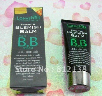 Wholesale Lohasill 10 in 1 essential  BB Cream 60g , skin cover, protection cream, 12pcs/lot, free shipping