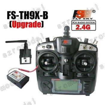 FlySky 2.4Ghz 9CH FS-TH9X-B/TH9B TX Transmitter & FS-R8B Receiver Radio Control Mode2 12901