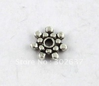400 pcs Tibetan silver daisy spacer beads 8.5mm A8251