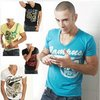 free shipping 2012 new men&#39;s fashion tshirt/modal men&#39;s t-shirt/polo shirts