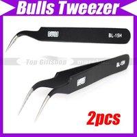 (2pcs/lot)Anti-static Professional Electronics Bulls Tweezer/Nipper #1032