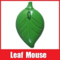 Fashion USB Optical Mouse Cute Leaves Mice for Computer Laptop, Gift Special for Lover Friends Kids Free Shipping+Retail Box(China (Mainland))