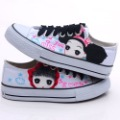 Korean style handwork  canvas shoes woman fashion D-B311