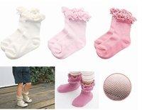 wholesale 20pairs/lot  princess baby girls' ballet socks/Dance socks