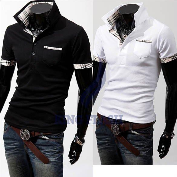 Мужская повседневная рубашка Brand new 2 4 3633#