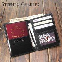 New Brand / leather passport case / Passport Organizer / Passport Bag /Multi Card Holder   W12PH0016-H