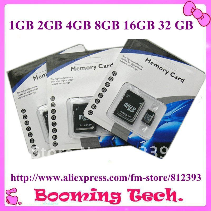 Free shipping High capacity T-flash memory card Micro SD card 32 gb 16gb 8gb 4gb 2gb 1gb(China (Mainland))