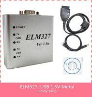 Free shipping ELM327 USB 1.5V from shenzhen elm327 usb scanner