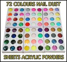 cheap nail glitter dust