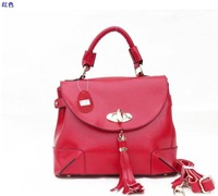 Маленькая сумочка 2012 Hot Sale Fashion Super Star Handbag Women Shoulder handbags Ladies PU Messenger Bag