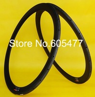 Tubular Rims 50mm - Full carbon matt matte 700C road bike Tubular Rims 50mm