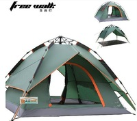 Free shiping Multi function with three easy to put up a tent +two mat free ,Automatic Beach Tent Fishing Tent For 2-3 Person,
