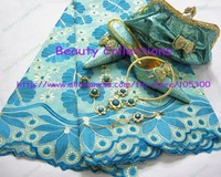 Lace fabric,shoes and bags,jewelry sets,perfect matchings with free shhipping--LSJ214
