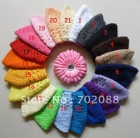 Free shipping 50pcs Euramerican popularity baby hat cotton baby cap mix color you can choose 10 colors