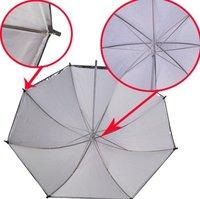"New 36"" Black Silver White Photo Studio Interchangeable Umbrella Softbox"