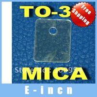 50pcs  TO-3P Transistor Mica Insulator,Insulation sheet  free shipping