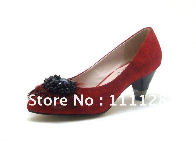 Low heel black dress shoes
