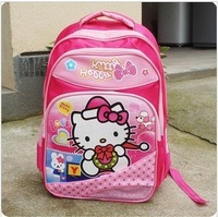 Hello Kitty children backpacks/backpack/kids school bags/schoolbag/kid/child Satchel/pink color
