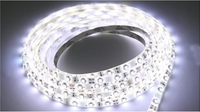 10pcs  Waterproof 5M 3528 SMD Cool White 150 LED Flexible Light Strip 12V 2W Lamp 30LED/M led strip 240lm/m