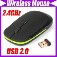 2.4GHz USB Wireless Optical Mouse Mice nano receiver #1474