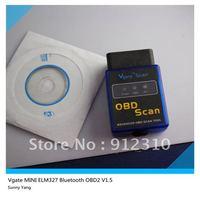 good perfromance of Vgate MINI ELM327 Bluetooth 1.5v the more the better 10pcs/lot