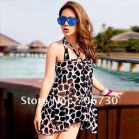 (10pcs/lot)Free Shipping 2012 Crazy Hot Atmospheric Ladies'/Women Bikini Swimmsuit,Sexy Leopard Bikini Set,Fashion Swimmwear