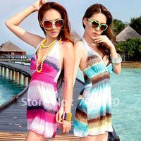 (10pcs/lot) Free Shipping 2012 Crazy Hot Atmospheric Ladies'/Women Bikini Swimmsuit,Sexy  Bikini Set,Fashion Gradient Swimmwear