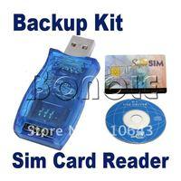 10Pcs/Lot 16 in 1 Magic Super Sim Card Reader/Writer/Copy/Backup Kit For Mobile Phone Cell Phone  1019 1020 B_297
