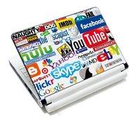 """Internet Logos Anti-Skidding Art Laptop Sticker Skin Decal Protector For 12"""" 13.3"""" 14"""" 15"""" 15.4"""" Laptop"""