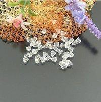 DIY Jewelry findings earring accessories 4*3MM rubber earring stud earring findings 3000pcs / lot wholesale free shipping