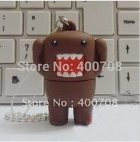 domo kun real 1GB 2GB 4GB 8GB 16GB 32GB usb flash drive stick pen drive thumb drive pen key udisk  10pcs/lot