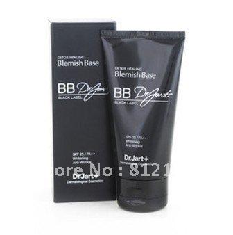Free Shipping 100% Guarantee New Makeup Black Label Detox Healing BB cream SPF25 PA++ 50ml/1.7oz 6PCS/LOT