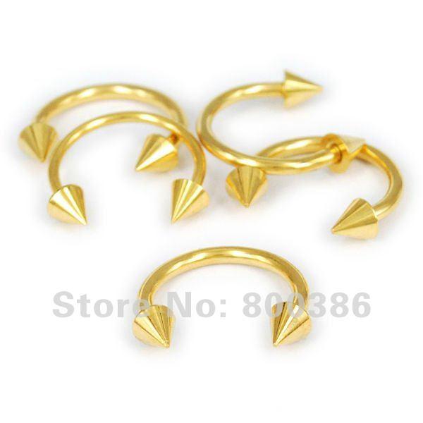 Horseshoe+tragus+rings