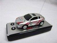 Free gift New arrival+4pcs/lot Mini Remote Control RC car+ rc car+Toy coke can mini car+aluminium CAN PACKAGE