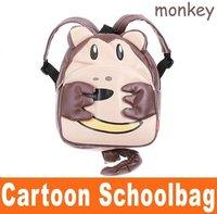 free shipping ! Baby Toddler Kid Child Cartoon Animal Backpack Schoolbag Shoulder Bag # hm214