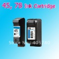 45, 78 INK cartridges  compatible for HP Deskjet 1180C 1280 930 930CM 932C 933C 934C+freeshipping+