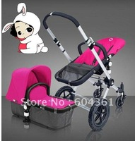 2012 Promotion,Shipping 100% high quality denim fabric bugaboo cameleon limited edition baby stroller