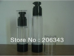 50ml airless pump bottle or lotion bottle or essence bottle can used for Cosmetic Container(China (Mainland))