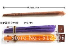 wholesale Natural, 100% organic plant material,100% Beeswax Ear Candle 2012 promotion package 50pcs @0679(China (Mainland))
