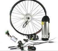 FREE SHIPPING factory direct sale 24V 250W Front Wheel Electric Bicycle conversion Kit with 24V 10Ah battery