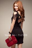 Free Shipping Fashion Evening Dress Sexy Party Dress 6002