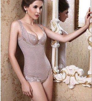 Free shipping wholesale women sexy corset shaper magic slimming suit body building underwear ladies shapewear print flower wear