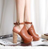 Туфли на высоком каблуке new Strappy Sandal shoes gladiator high heels sandal popular women's platform suede shoes sandals drop ship 159