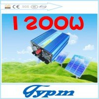Factory sell!  1200 watt  pure  sine wave solar power inverter 12v DC  to 240v AC