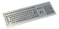 IP65 Anti-vandal metal keyboard with trackball for kiosk (X-BP1071B)